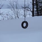 winter tire swing