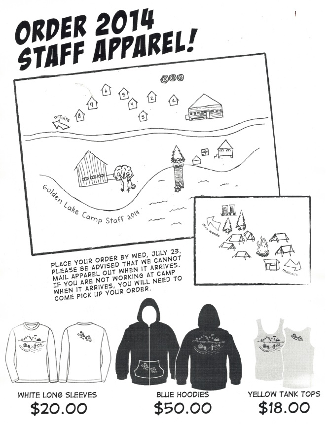 GLC Staff Clothing 2014