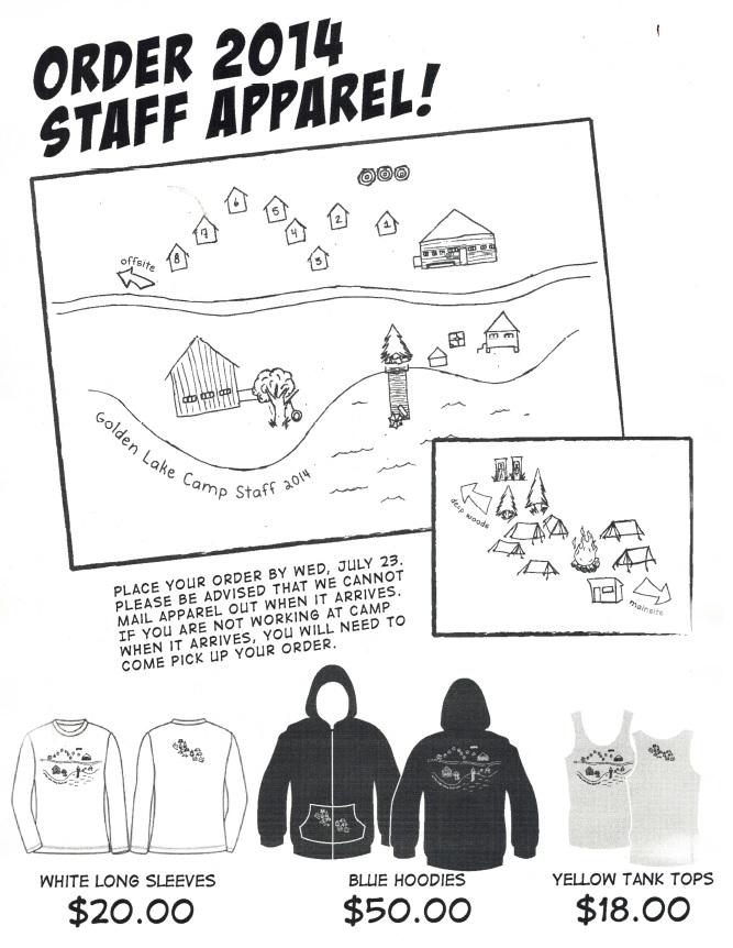 GLC Staff Clothing 2014